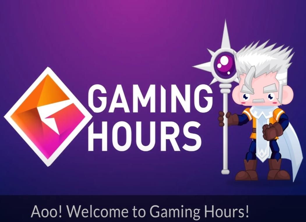 Gaming Hours tutorial animáció
